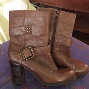 Great Brown Nine West Boots